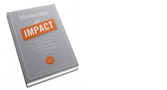 FROM MY BOOKSHELF: Moments of Impact by Chris Ertel and Lisa Kay Solomon